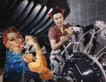 Rosie the Riveter and Real Riveter Building Engine