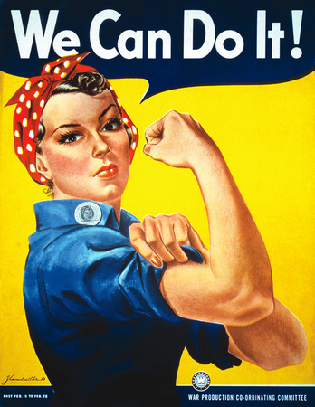 Free Photo: We Can Do It! Rosie the Riveter